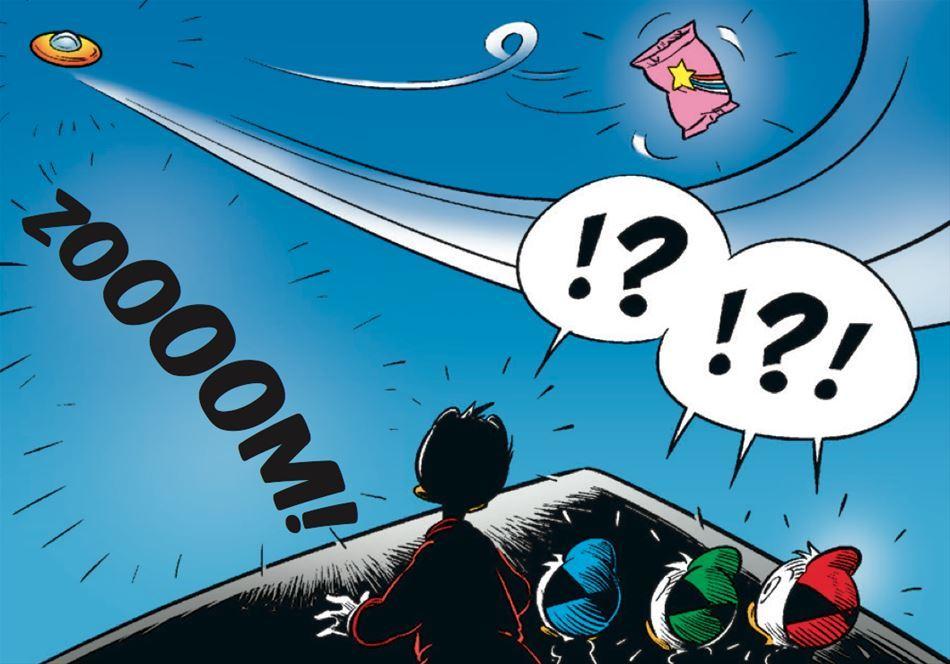 UFO i Andeby