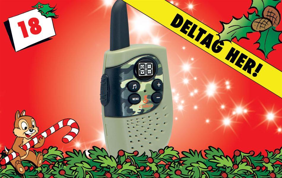 18. december - Vind geniale grønne walkie talkies