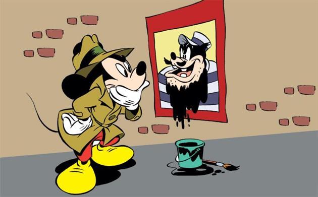 Mickey som detektiv