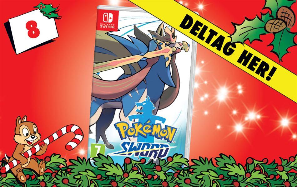 8. december - Vind Pokémon Sword til Nintendo Switch!