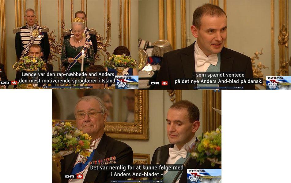 Anders And er (næsten) royal