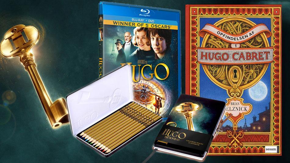 Afsluttet: Vind Hugo-filmpakke!
