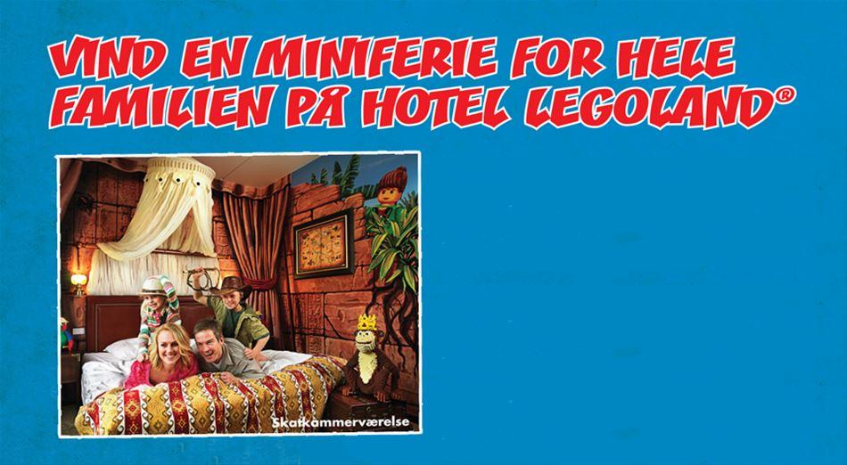 AFSLUTTET: SE HVEM, DER VANDT EN MINIFERIE FOR HELE FAMILIEN PÅ HOTEL LEGOLAND®