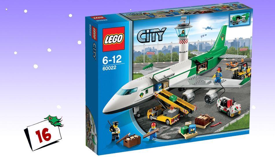 Lego City lasteterminal får timene til å fly avgårde!