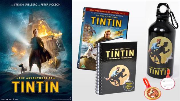 Afsluttet: Tintin-pakke