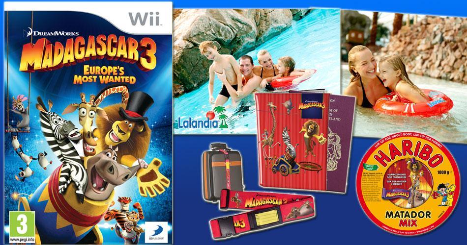 Afsluttet: Madagascar 3 og miniferie i Lalandia
