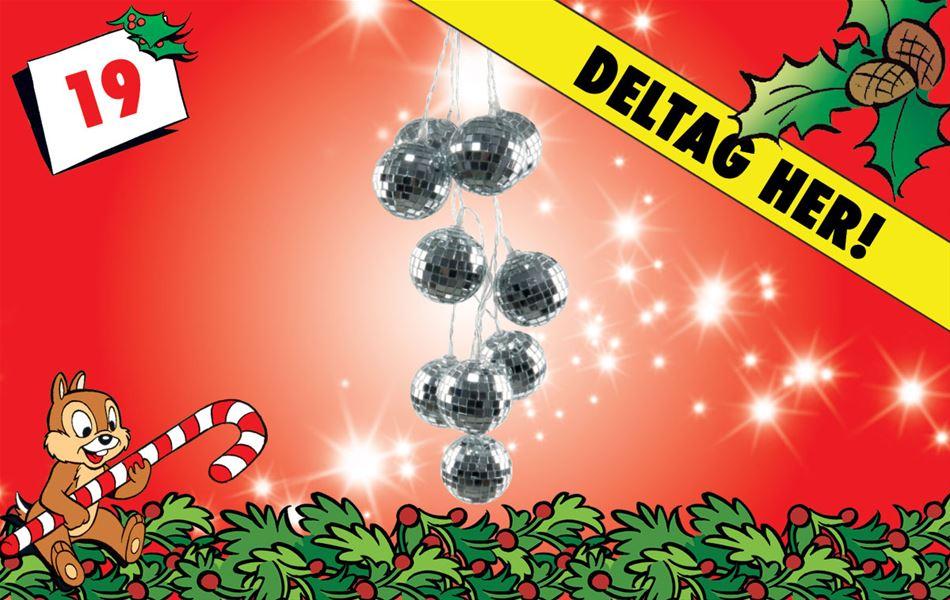 19. december - Vind discokugler med discolyskæde