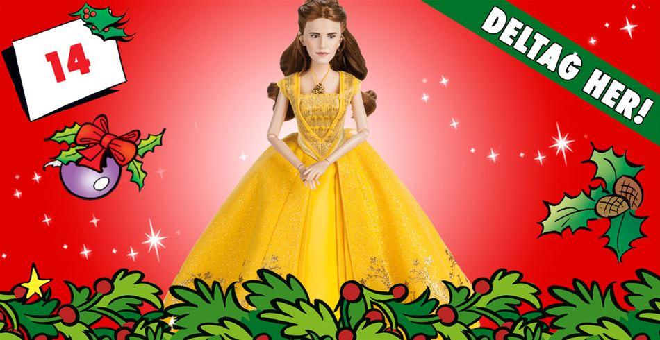 14. december • VIND Belle-dukke fra Skønheden og Udyret
