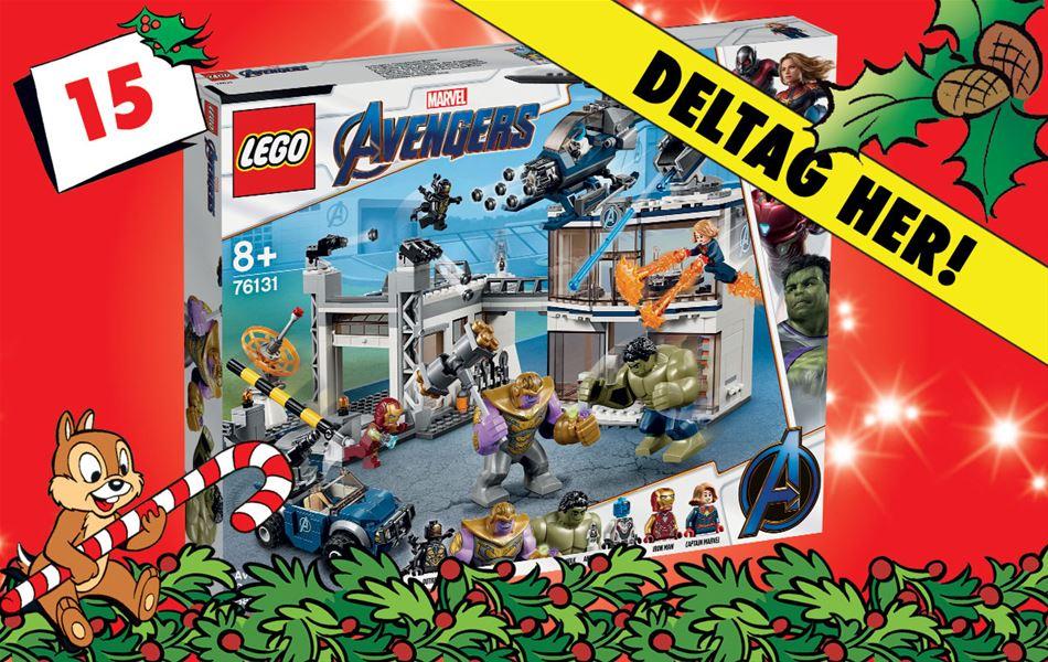 15. december - Vind LEGO Super Heroes Avengers Compound Battle