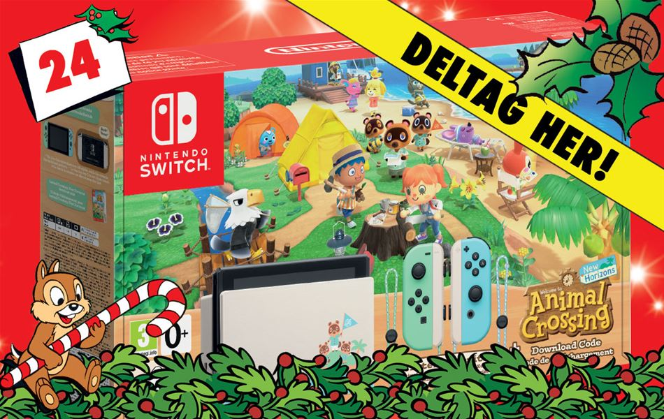 24. december - Vind Nintendo Switch og Animal Crossing