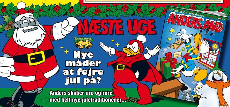 Har Anders fundet nye måder at fejre jul på?