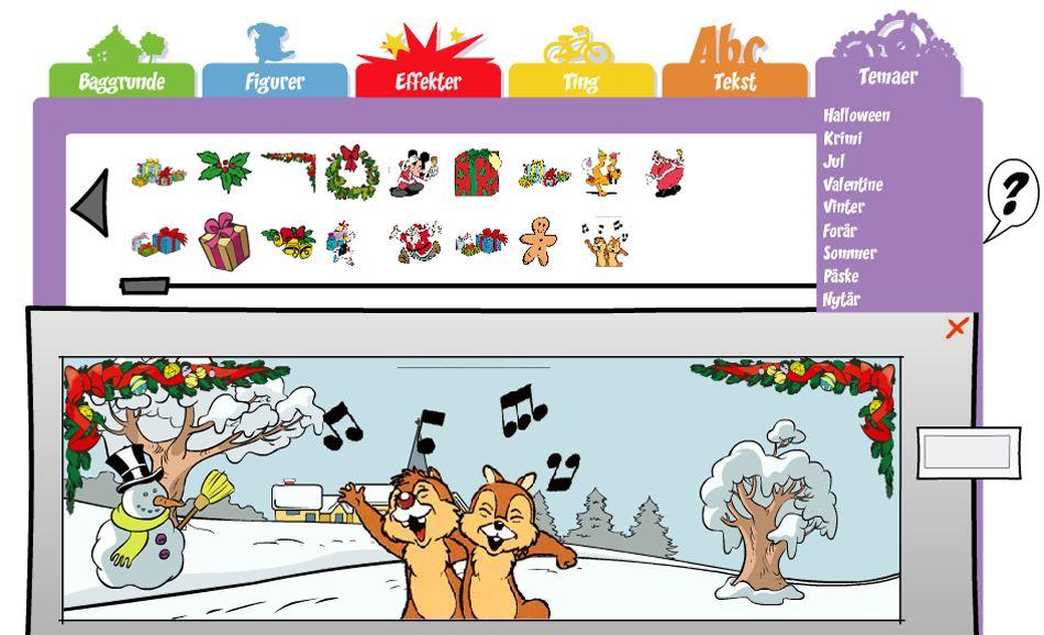 Lav en julehistorie