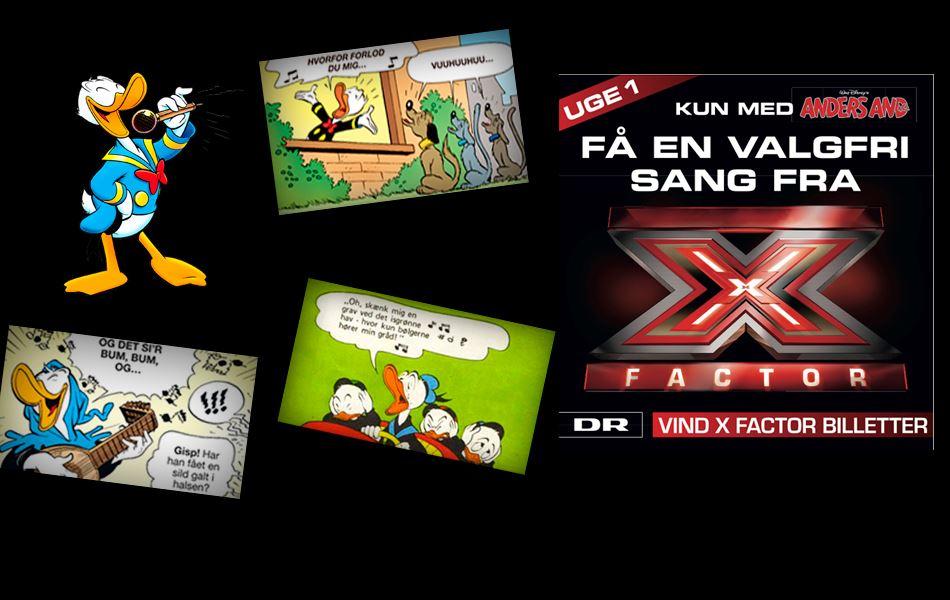 Download ugens valgfri X Factor-sang