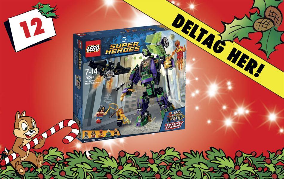 12. december • Vind LEGO Super Heroes