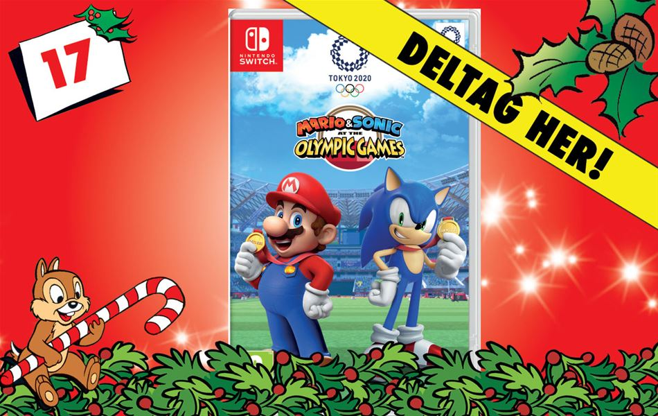 17. december - Vind Mario & Sonic at the Olympic Games Tokyo 2020