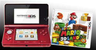 Se hvem der vandt en Nintendo 3DS og Super Mario