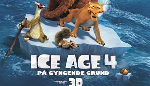 Afsluttet: Vind Ice Age 4-pakke