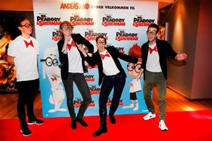 Gallapremiere på Hr. Peabody & Sherman