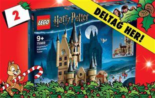 2. december - Vind LEGO Harry Potter astronomitårn