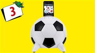 Vind Fodbold Docking-højtaler!