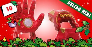 10. december • VIND Iron Man-handsker