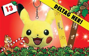 13. december - Vind Pikachu og Eevee-nøgleringe!