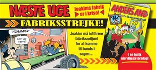 Hvorfor strejker onkel Joakim mod sig selv?