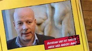Hvordan var dit første møde med Anders And?