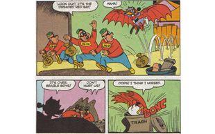Den røde flagermus