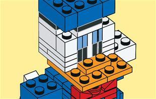 Sådan kan du lave Anders i Lego