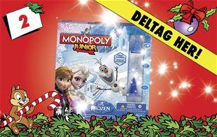 2. december • Vind Disney Frost Monopoly