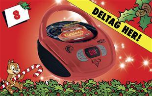 8. december • Vind Disney Biler radio & cd-afspiller