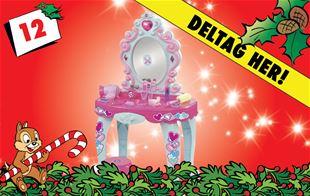 12. december - vind Fippla sminkebord med lys og musik