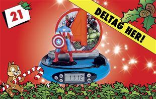 21. december • Vind Marvel Avengers vækkeur