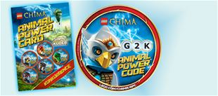 LEGO Chima Animal Power Card konkurrence!