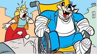 Galskab på to hjul!