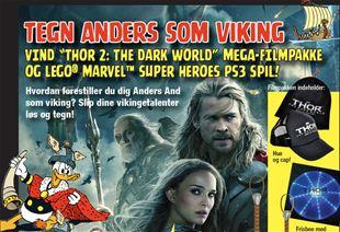 AFSLUTTET: Tegn Anders som viking