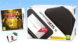 VIND Nintendo 3DS XL og Zelda-spil!