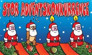 AFSLUTTET: Adventskonkurrence