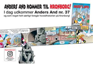 Anders And kommer til Kronborg