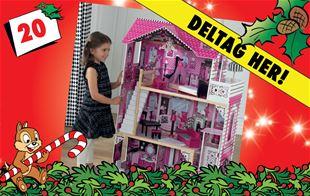 20. december - Vind KidKraft Amelia dukkehus