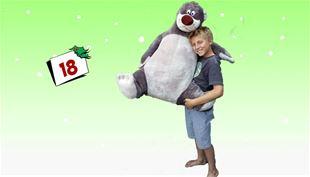VIND en gigantisk Baloo-bamse!