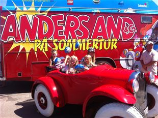 Anders And & co. sommerturen