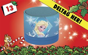13. december • Vind Disney Frost-højtaler