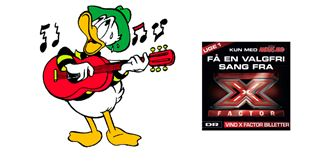 Få gratis X Factor-sang i ugens AA-blad