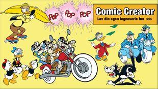 Mange nye tegninger i Comic Creator!