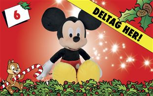 6. december • Vind Disney Mickey Mouse-bamse