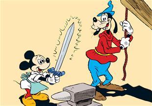 Mickeys modige forfædre