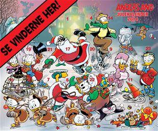 Julekalenderen 2014 - SE VINDERNE HER!