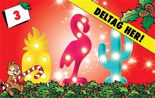 3. december - Vind seje lamper i sjove former
